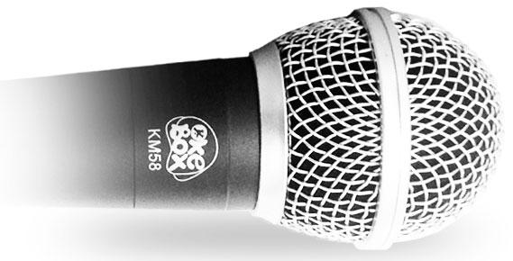 Micrófono KM58 OkeBox